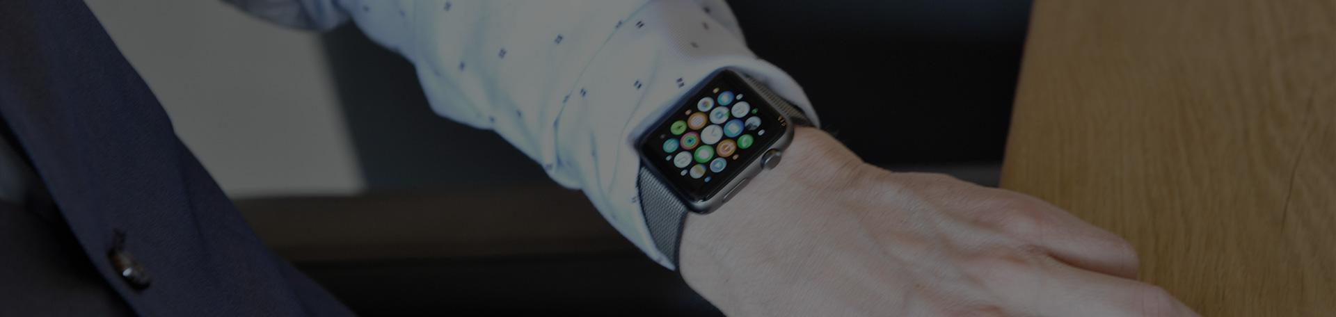 slimme horloge gekoppeld met domotica