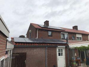 impressie energiecentrale op het dak familie bosch