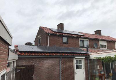 Energiecentrale op het dak