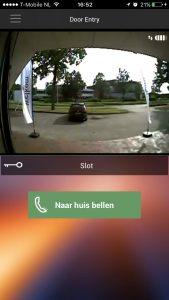 beeld op scherm